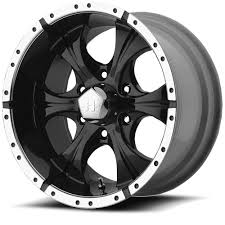 100 Helo Truck Wheels 15 HE791 Maxx Black Machined Wheel 15x8 6x55 12mm Rim