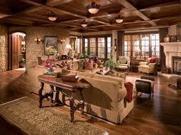 Tuscan Farm House Living Room
