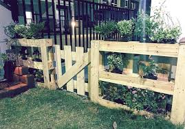 Fence Made From Pallets Wood Pallet Gate And In Backyard Ideas Of