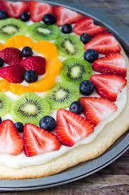 Sugar Cookie Fruit Pizza Oh Sweet Basil