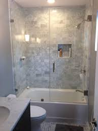 39 Magnificient Small Bathroom Tub Shower Remodeling Ideas - Decoomo.com Bathroom Tub Shower Ideas For Small Bathrooms Toilet Design Inrested In A Wet Room Learn More About This Hot Style Mdblowing Masterbath Showers Traditional Home Outstanding Bathtub Combo Evil Bay Combination Remodel Marvelous Tile Combos 99 Remodeling 14 Modern Bath Fitter New Base Is Much Easier To Step 21 Simple Victorian Plumbing