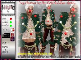 IrrISIStible CRAZY CHRISTMAS TREE MEN OUTFIT APPLIERS