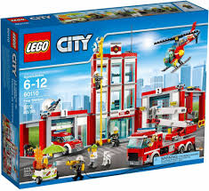 Lego – City – Fire Station – 60110 - CWJoost