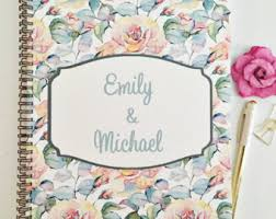 Personalized Wedding Planner Custom New Cover Options Bridal