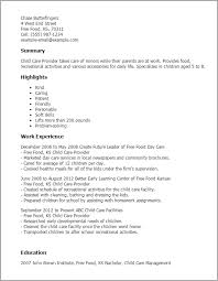 Free Aged Care Resume Template Child Sample All About Letter Examples