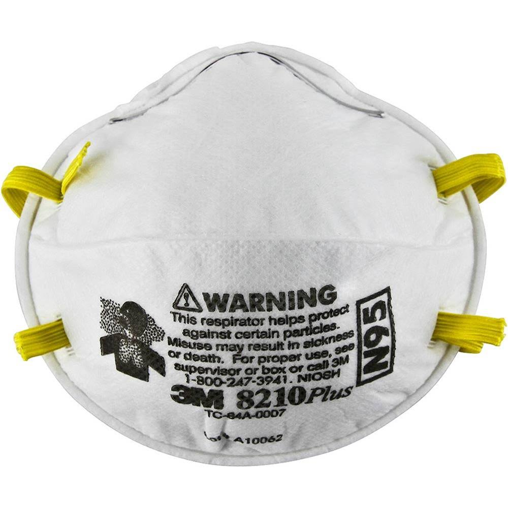3M Safety 8210Plus Particulate Respirator
