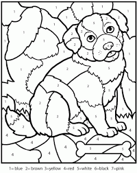 Coloring Pages For Teenagers Difficult Color Number Many Free