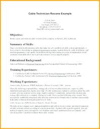 Electrical Maintenance Resume Job Application For Technician Sample Resumes Electricians