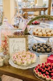 Blush Gold Winery Wedding Cupcake TableSweet