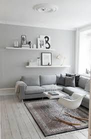 effektvolle wohnzimmer wandgestaltung kreatives graues
