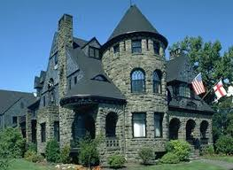 The Style Was Built Exclusively In Stone And Featured Massive Often Rustic Looking Construction Along With Heavy Arches