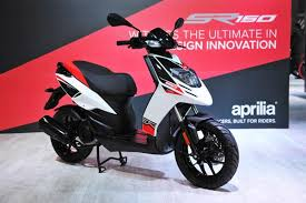 Aprilia SR 150 Launched In India At INR 65000