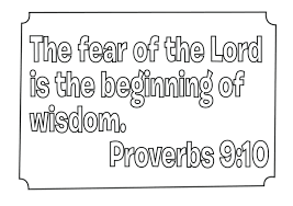 Coloring Book Of Bible Proverbs Pages What S In The