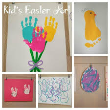 Preschool Easter Arts And Crafts Activities