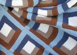 log cabin blanket