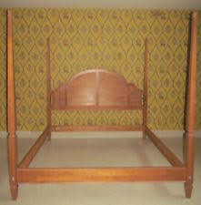 Spindle Headboard And Footboard by Ethan Allen Headboards And Footboards Ebay