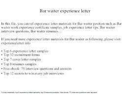 Waitress Resume Example Duties This Is Sample Airline Format Download Objective Waiter No Experience