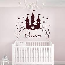 sticker chambre bébé fille stickers princesse