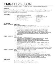 Click On Any Of The Resume Examples Below And Use Or Edit Text Samples To Your Specifications Get A Job Winning In No Time