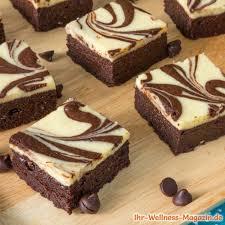 saftige schoko vanille brownies low carb rezept ohne zucker