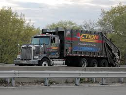 100 Garbage Trucks In Action ACTION Carting WesternStar Garbage Truck Vinny Schiano Flickr