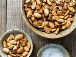 Roasted Hulled Pumpkin Seeds by Curry Roasted Pumpkin Seeds Recipe Todd Porter And Diane Cu
