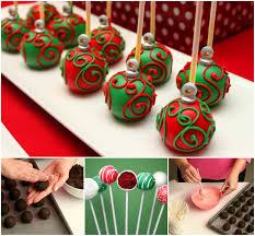 Ornament Cake Pops wonderful diy