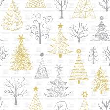 Image Of Drawn Christmas Tree Vector Hand Drawn Christmas Tree