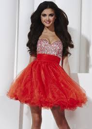 cute red party dresses