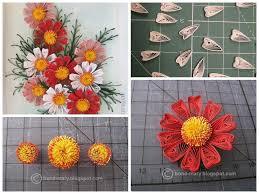 DIY Beautiful Quilling Paper Cosmos Craft Tutorial