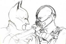 Batman Vs Bane Coloring Pages Print And Download Area