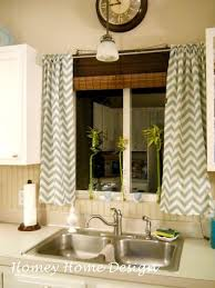 Homey Home Design Simple Chevron Curtains With Fabric From Hobby Lobby New For Moms Kitchen To Go Paint