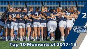 Mercy Athletics Moment 2 Womens Lacrosse Plays In ECC Championship Game For Second Straight Year And Produces Three All Americans