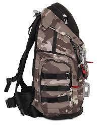 oakley 34l kitchen sink camo backpack in gray for men lyst