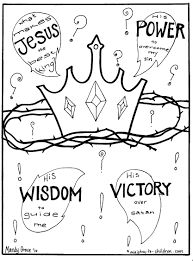 Download Coloring Pages Jesus Gospel What Makes The Best King