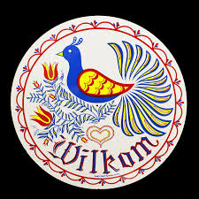Welcome Distelfink Bird White 16