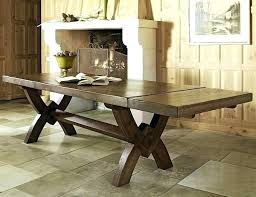 Rustic Style Furniture Dining Table Room Solid Wood