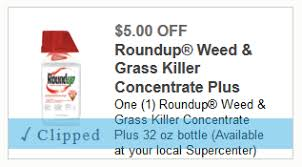 There Is Also A 5 Off Roundup Weed Grass Killer Concentrate Plus 32oz Coupon Available To Print
