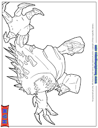 Marshmallow Monster From Disneys Frozen Coloring Page