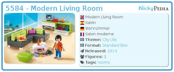 playmobil set 5584 modern living room klickypedia