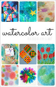 10 Beautiful Ideas For Watercolor Art Projects With Kids