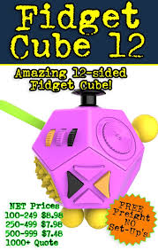 Looking For Something Amazing Unique And Totally Different Your Next Tradeshow Conference Or B2B Get The Wonka 12 Sided Fidget Cube