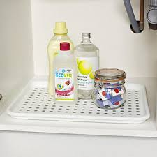 Under Sink Mat Drip Tray by Under Sink Drip Tray In Sink Mats At Lakeland