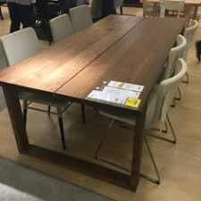 M–RBYL…NGA Table oak veneer brown stained Pinterest