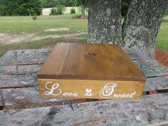 16 X Wooden Cake Stand Love Is Sweet Wedding
