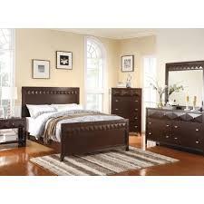trilogy bedroom bed dresser mirror cappuccino queen