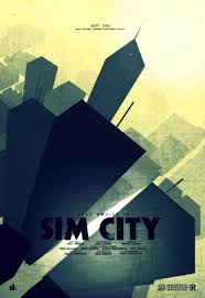Sim City Poster Print Video Game Posters Retro Of