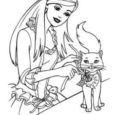 Barbie Coloring Book Pages AZ