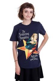 Smashing Pumpkins Shirts by The Smashing Pumpkins Mellon Collie Navy T Shirt Official
