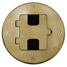 Hubbell Floor Box Covers And Accessories by Hubbell Wiring Rf509br Metallic Crescent Electric Supply Company